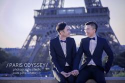 同志婚紗 巴黎拍婚紗