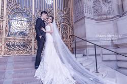 巴黎拍婚紗