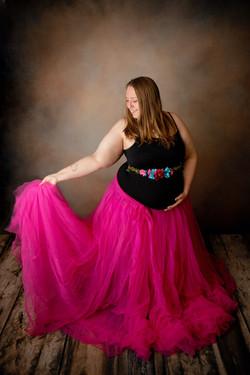 Willow Skirt ~ Hot Pink