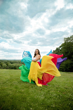Rainbow Dress Size M