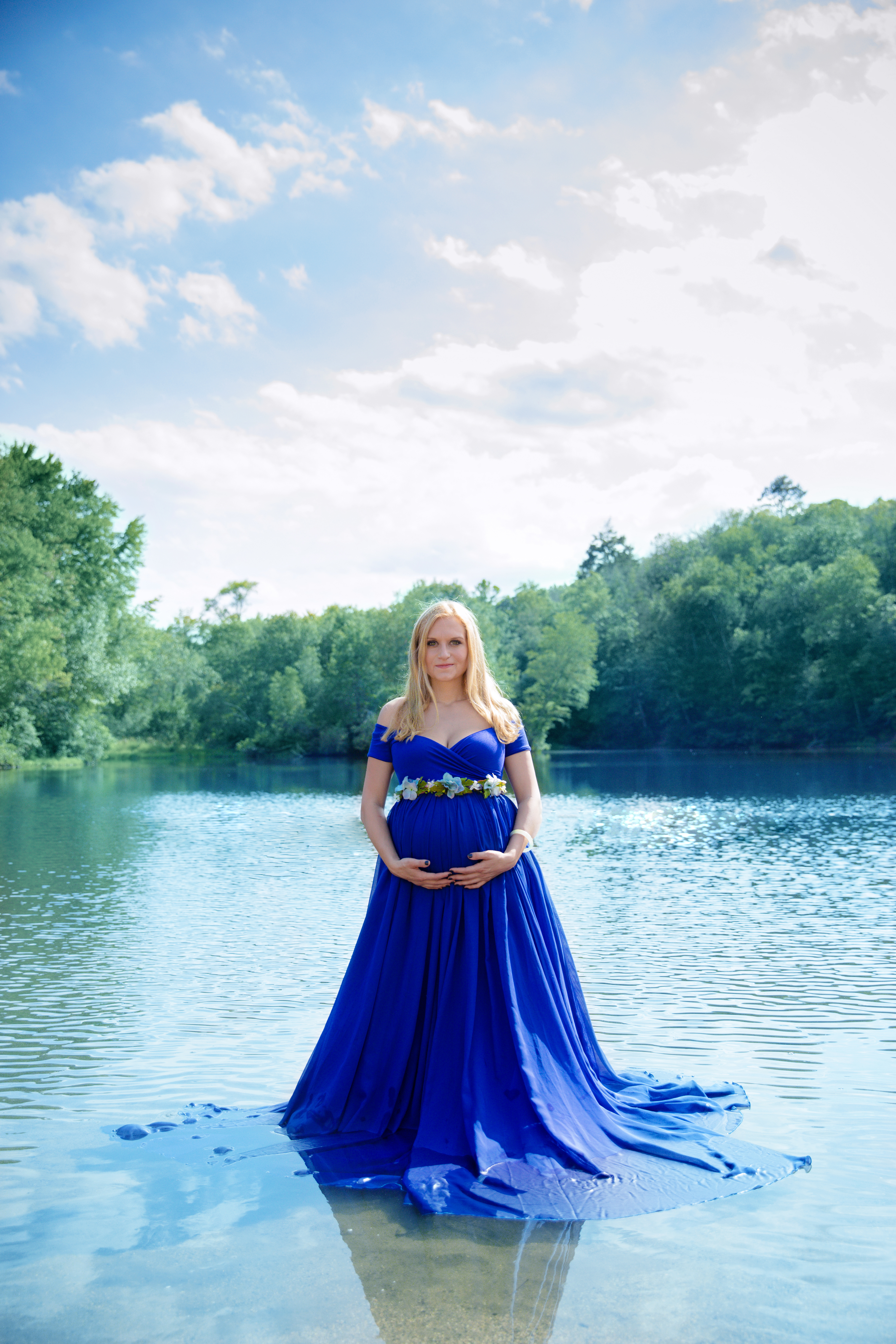 Faythe Gown ~ Royal Blue
