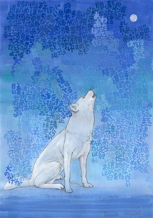 月に吠える犬の為のドローイング