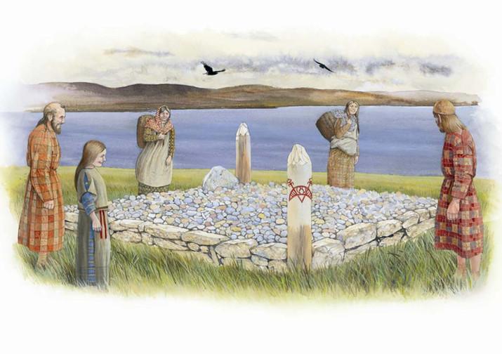 Berneray Pictish Burial