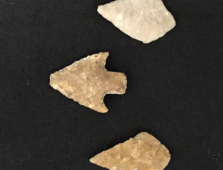 Arrow heads were often used as amulets