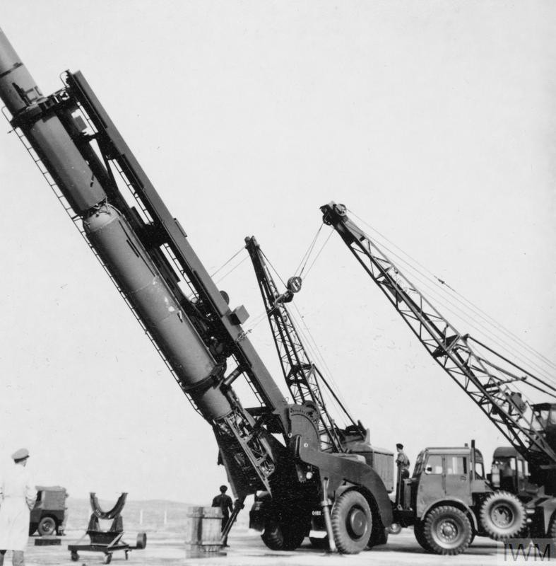 Corporal Missile Testing at South Uist , 4-23 May 1961