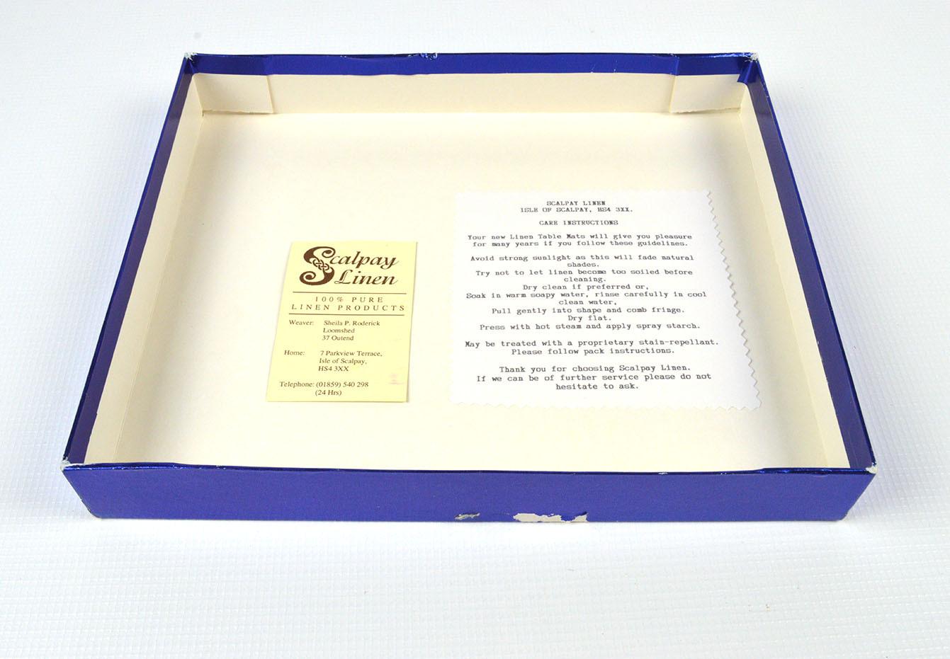 Scalpay Linen Box