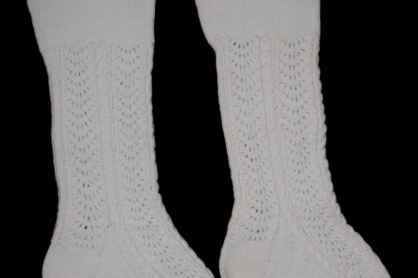 Orkney Bog Cotton Socks