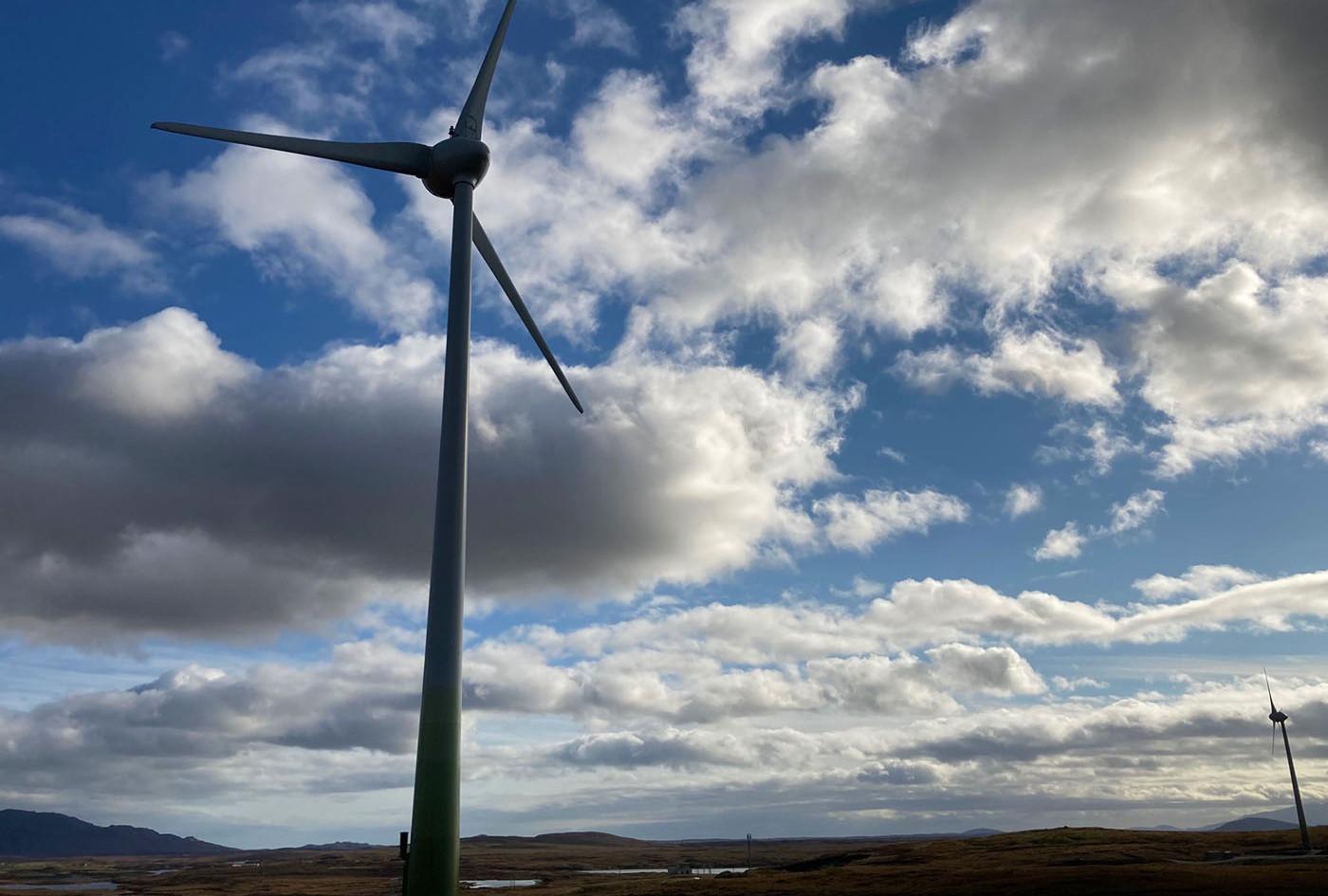 Wind Turbine, North Uist