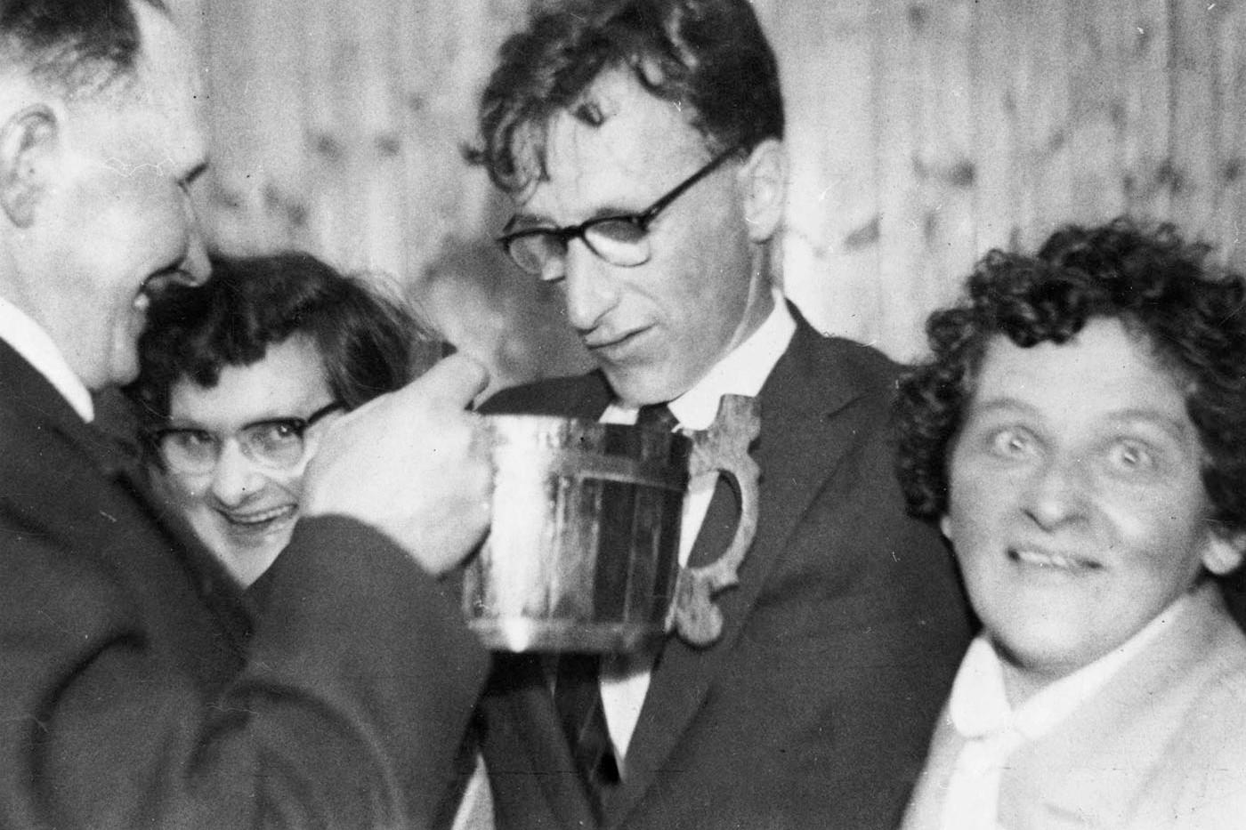 Wedding of Ronnie and Ethel Mowat of Ramray, Graemsay, c. 1960s