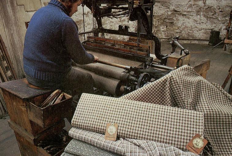 Shetland weaver, c.1983