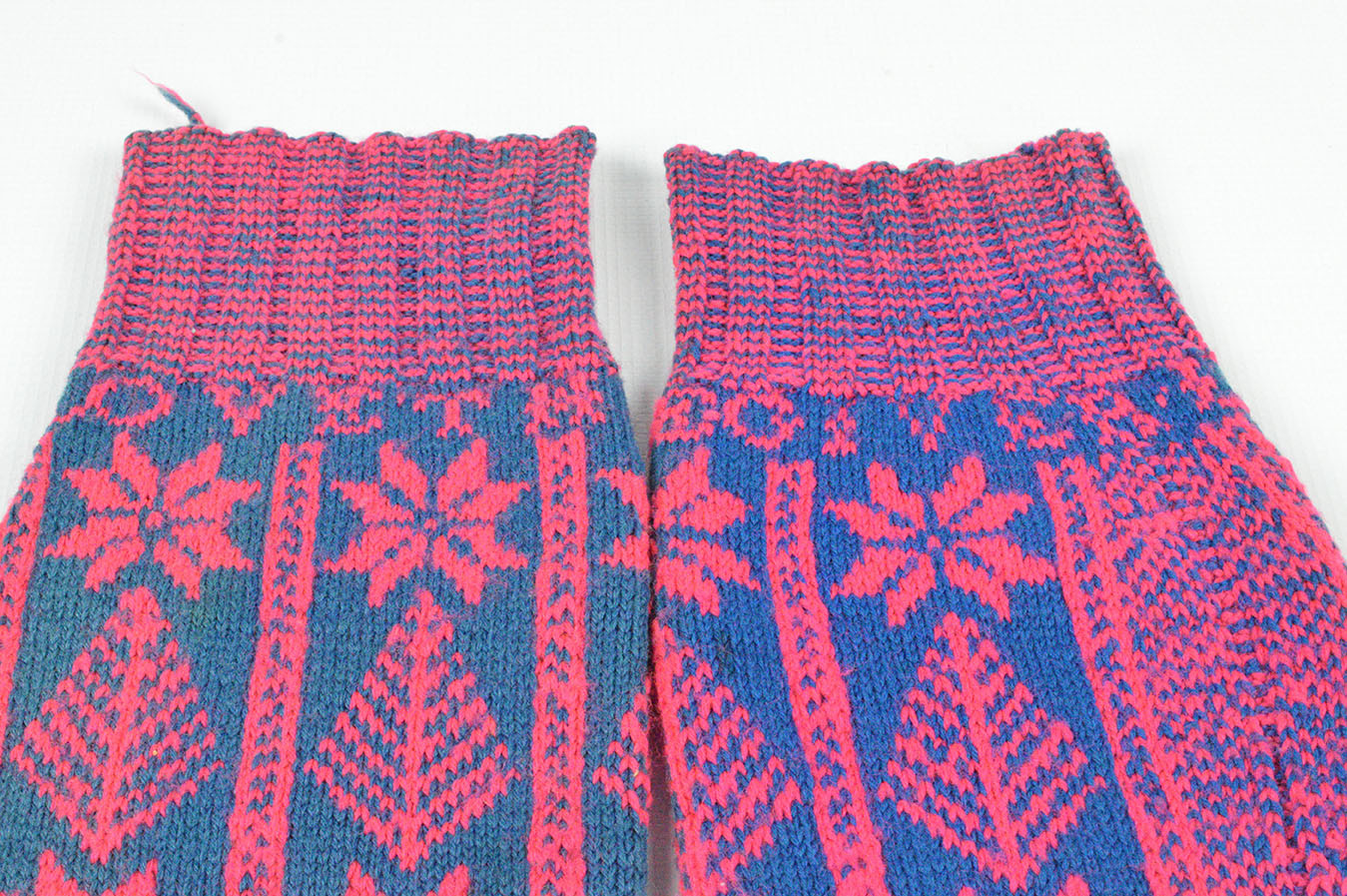 Outer Hebrides Wedding Stockings (detail)
