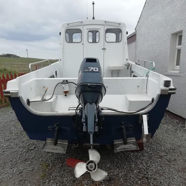 Rear of Boat