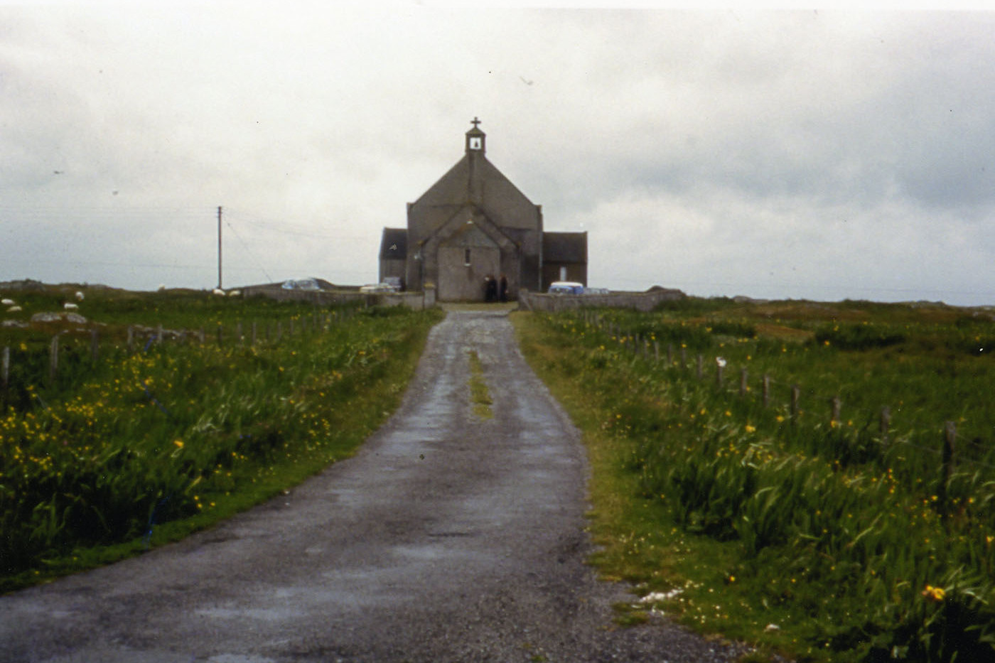 St Mary's Church, Bornish, South Uist, 1977