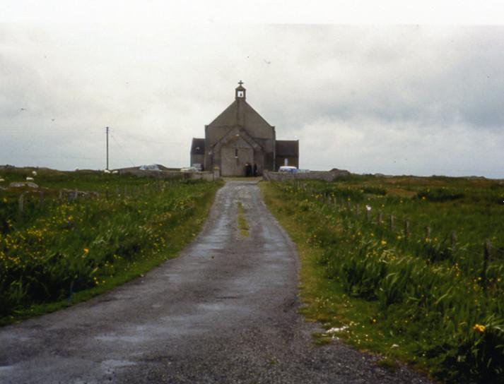 St Mary's Church, Bornish, South Uist, 1977