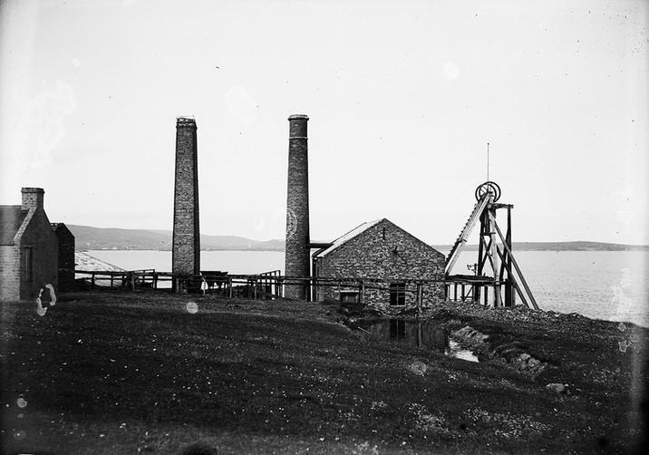 Sandlodge mine, Shetland