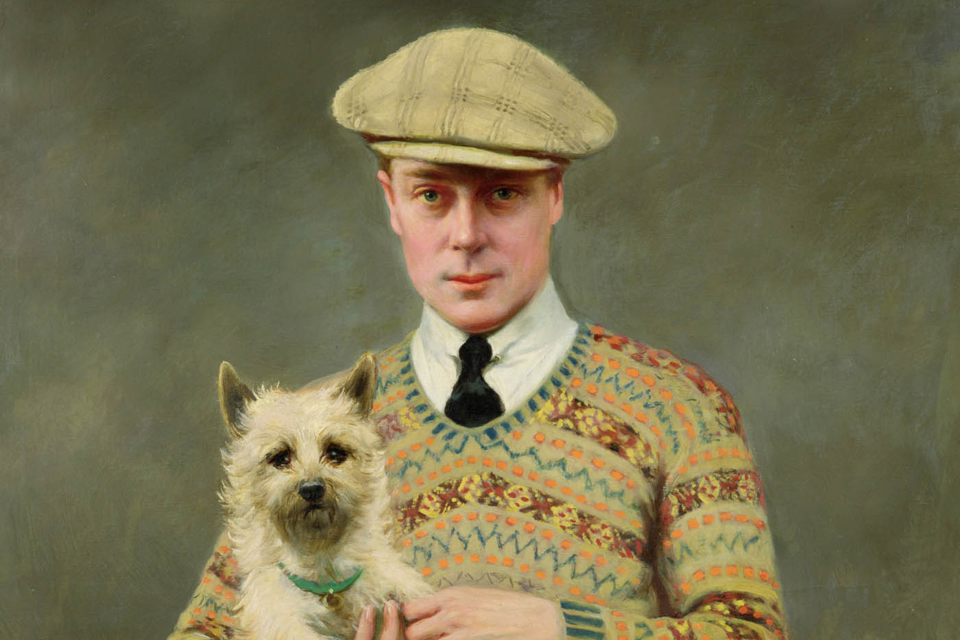 HRH David the Prince of Wales, 1925