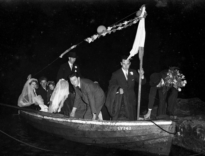 Double wedding boat, Bernera, Isle of Lewis