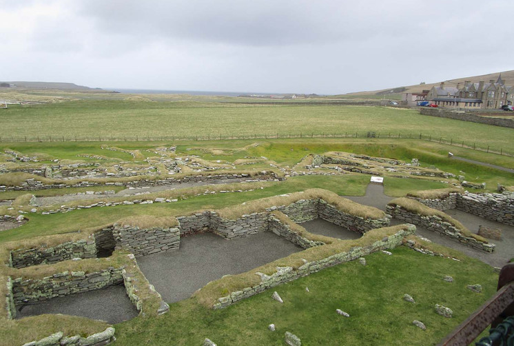 Jarlshof Viking site, Shetland
