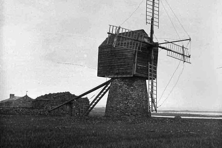 Early Orkney windmill
