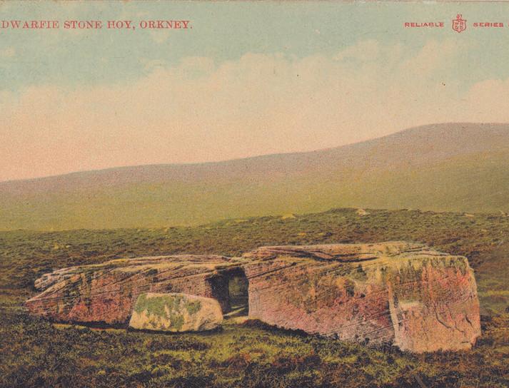 Dwarfie Stane, Hoy, Orkney