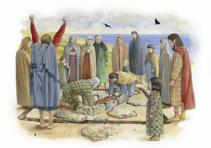 Kilpheder Pictish Burial, South Uist