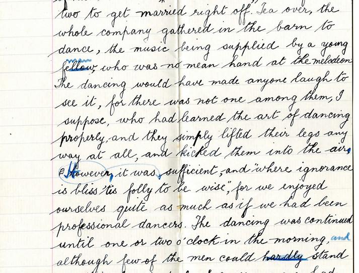 'A Country Wedding' essay