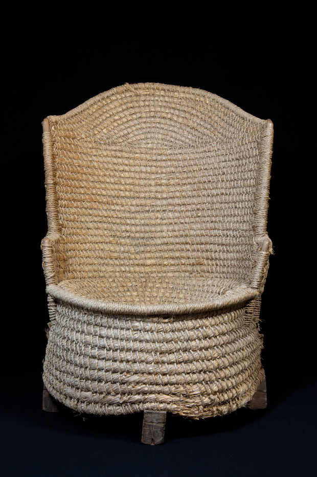 Straw Orkney Chair