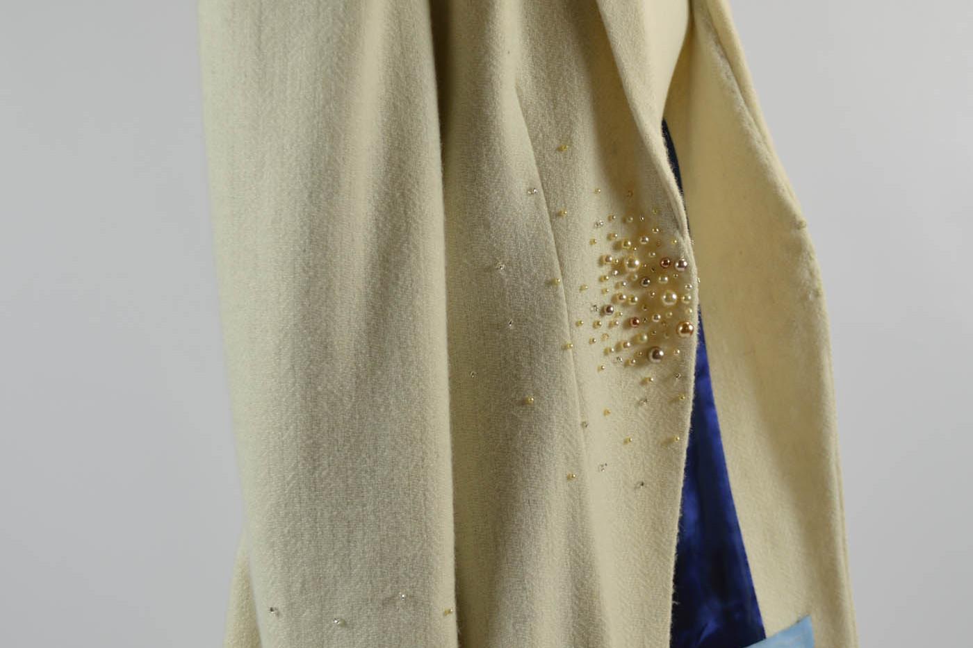 Harris Tweed wedding coat