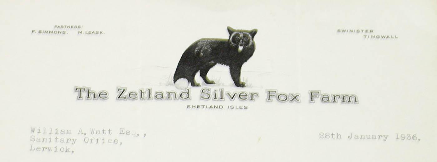 Zetland Fox Farm, Shetland