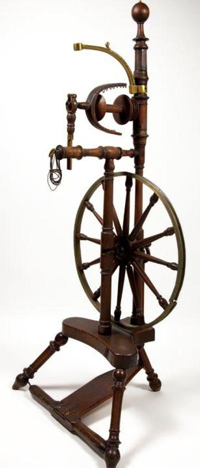 Flax Spinning Wheel