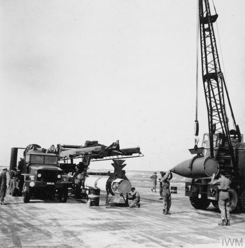 Corporal Missile Testing at South Uist, 4-23 May 1961