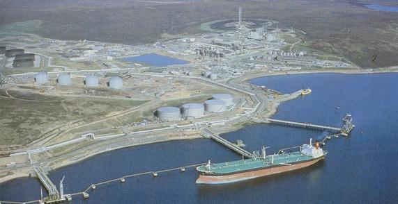 Sullom Voe Oil Terminal, Shetland