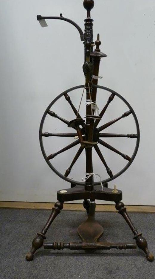 Shetland Flax spinning Wheel