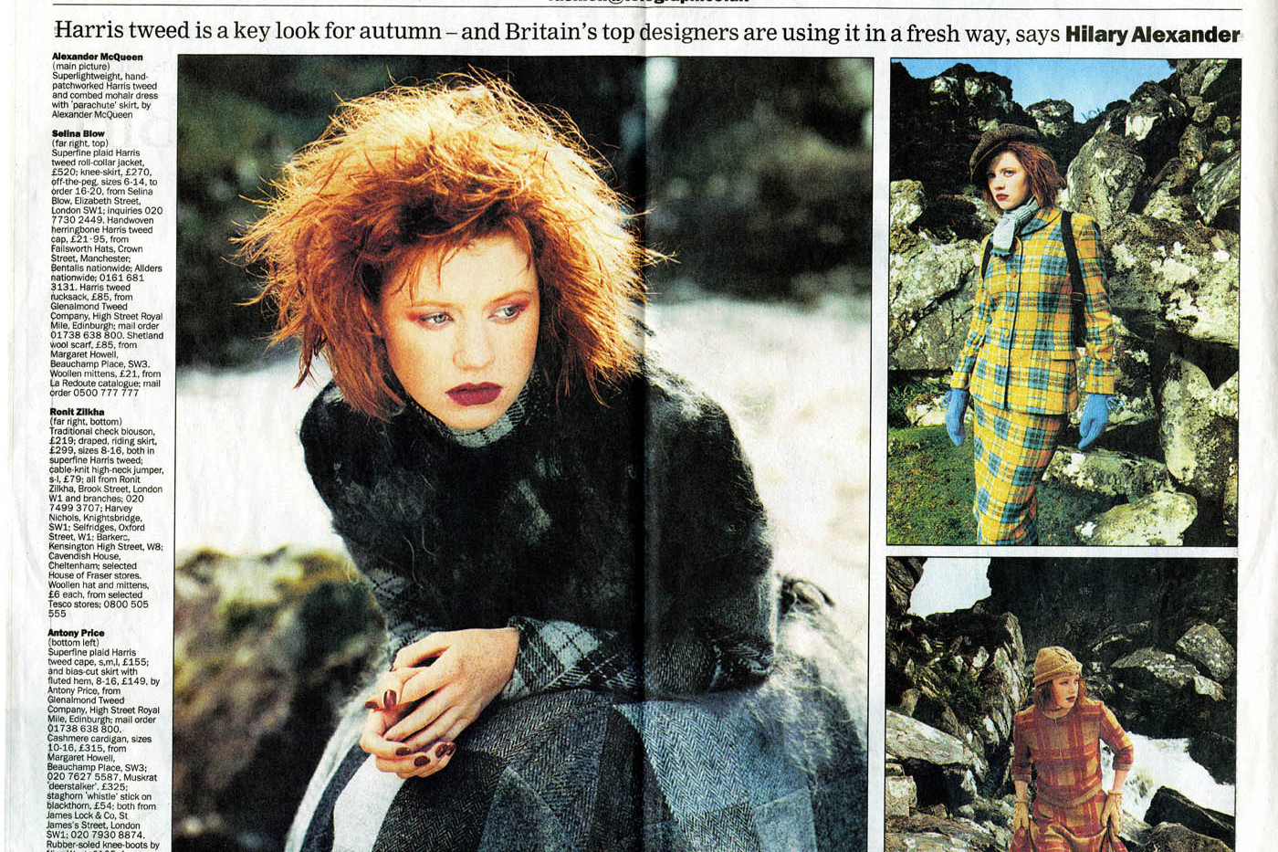 Daily Telegraph feature on Harris Tweed