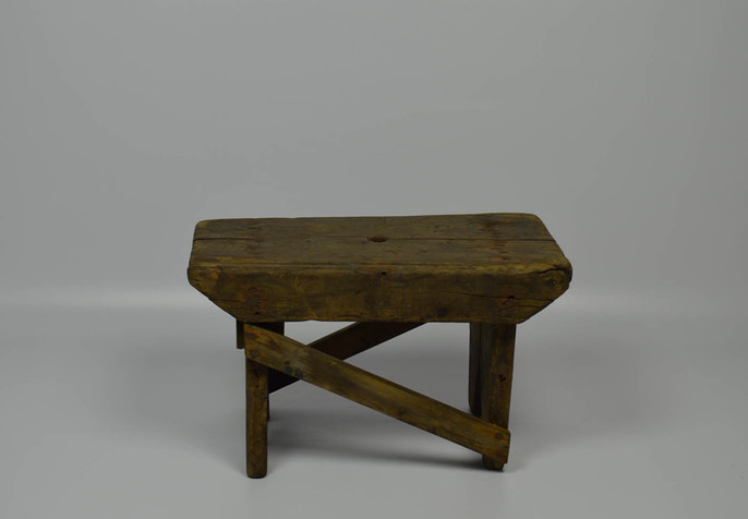 Recycled stool, Outer Hebrides