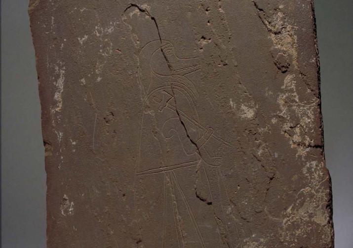 Pictish figure, Shetland