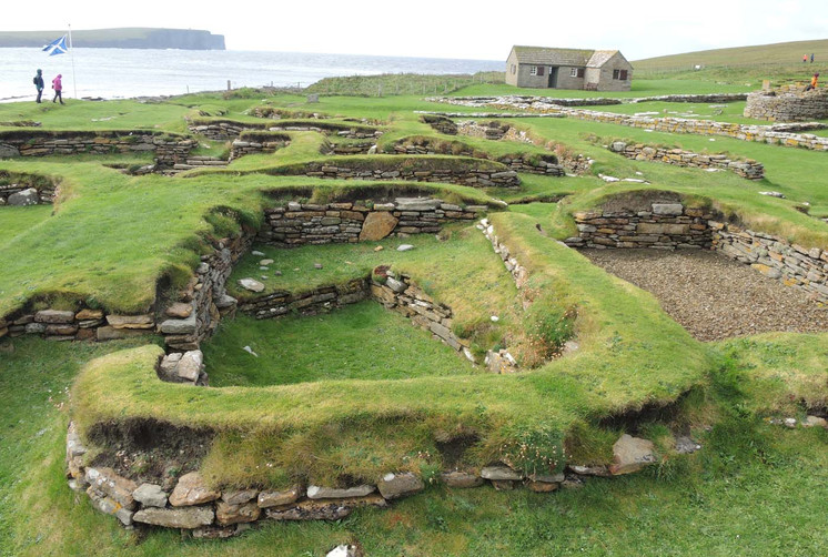 Later Norse houses complex, Orkney