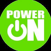 PowerOn Logo_Green Circle_White Letters.