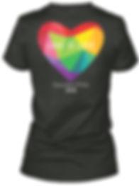 Love is Love Heart Womens V-Neck.jpeg