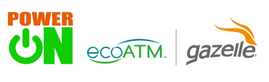 ecoATM Gazelle and PowerOn Announce New Partnership for #GivingTuesday