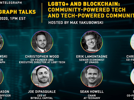 LGBT Tech's Christopher Wood joins panel on blockchain and the LGBTQ+ community