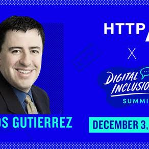 LGBT Tech's Carlos Gutierrez Speaks at Inaugural Digital Inclusion Summit