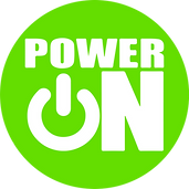 PowerOn Logo_Green Circle_White Letters.