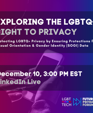 FPF and LGBT Tech Host Discussion in Honor of Human Rights Day