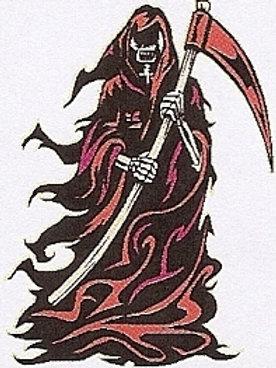 GCP51 Reaper Window Sticker