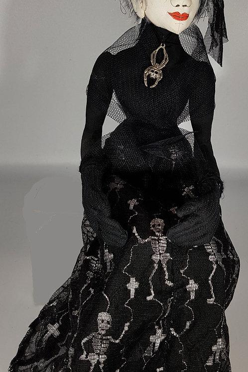 Elf Doll With Skeleton Skirt