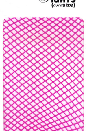 Fishnet Tights (Flo Pink)