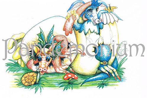 Zodiac Dragon Card