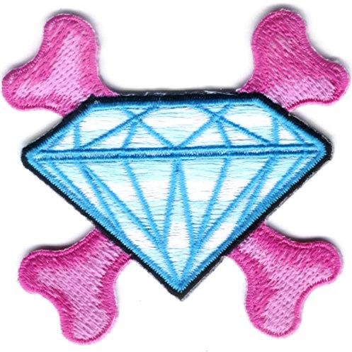 Diamond Crossbones Patch