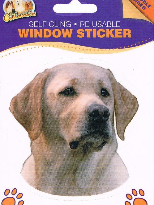 Labrador Window Sticker